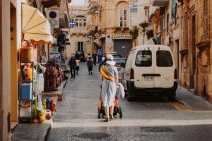 woman in malta