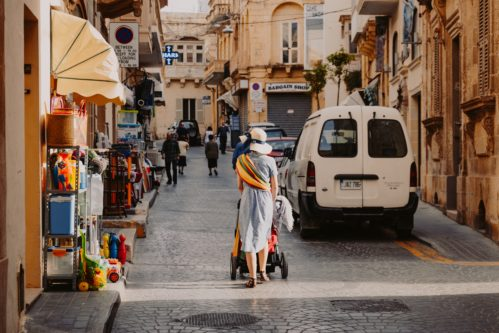 woman in malta