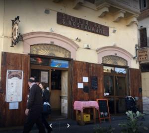 Tony's Sicilia Bar